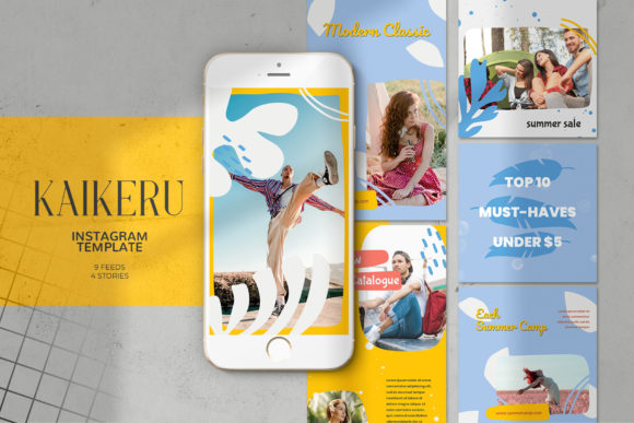 Kaikeru Instagram Templates[Photoshop][4700777]