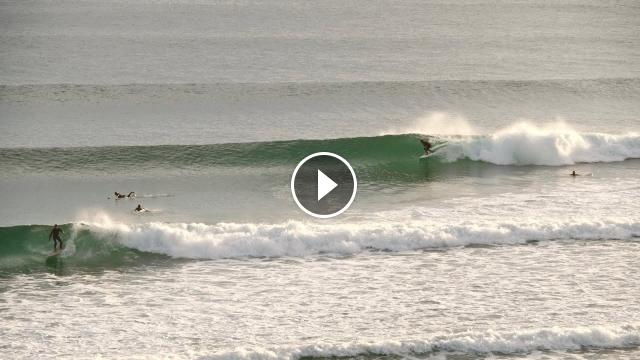 Surfing Super Clean Snapper Rocks Thru Rainbow Bay Dawn Session Monday 6th September 2021