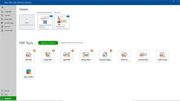 convert pdf to word apps Nitro