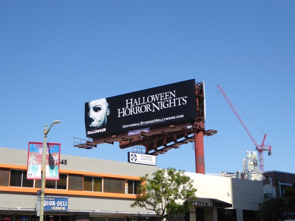 Halloween Horror Nights 2015 billboard