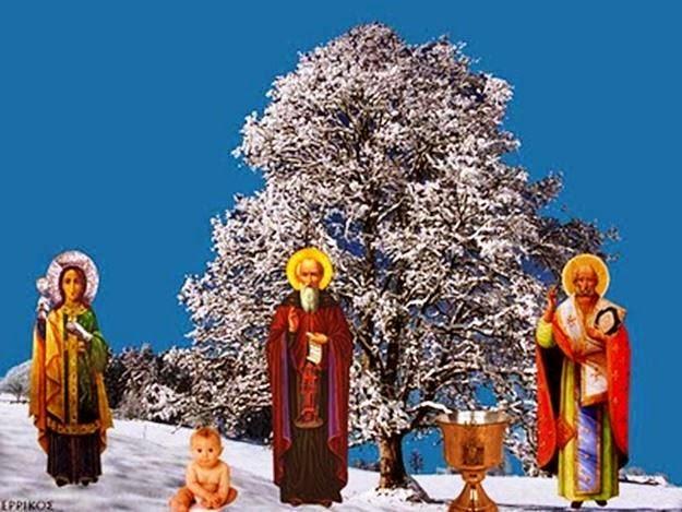 """Στη λαϊκή παράδοση ο Χειμώνας ξεκινάει με τα """"Νικολοβάρβαρα"""""""