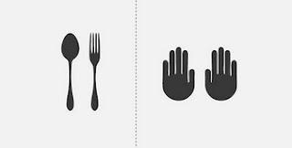 Makan Pakai Sendok atau Pakai Tangan 2017