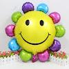 Balon Foil SUN SMILE RAINBOW