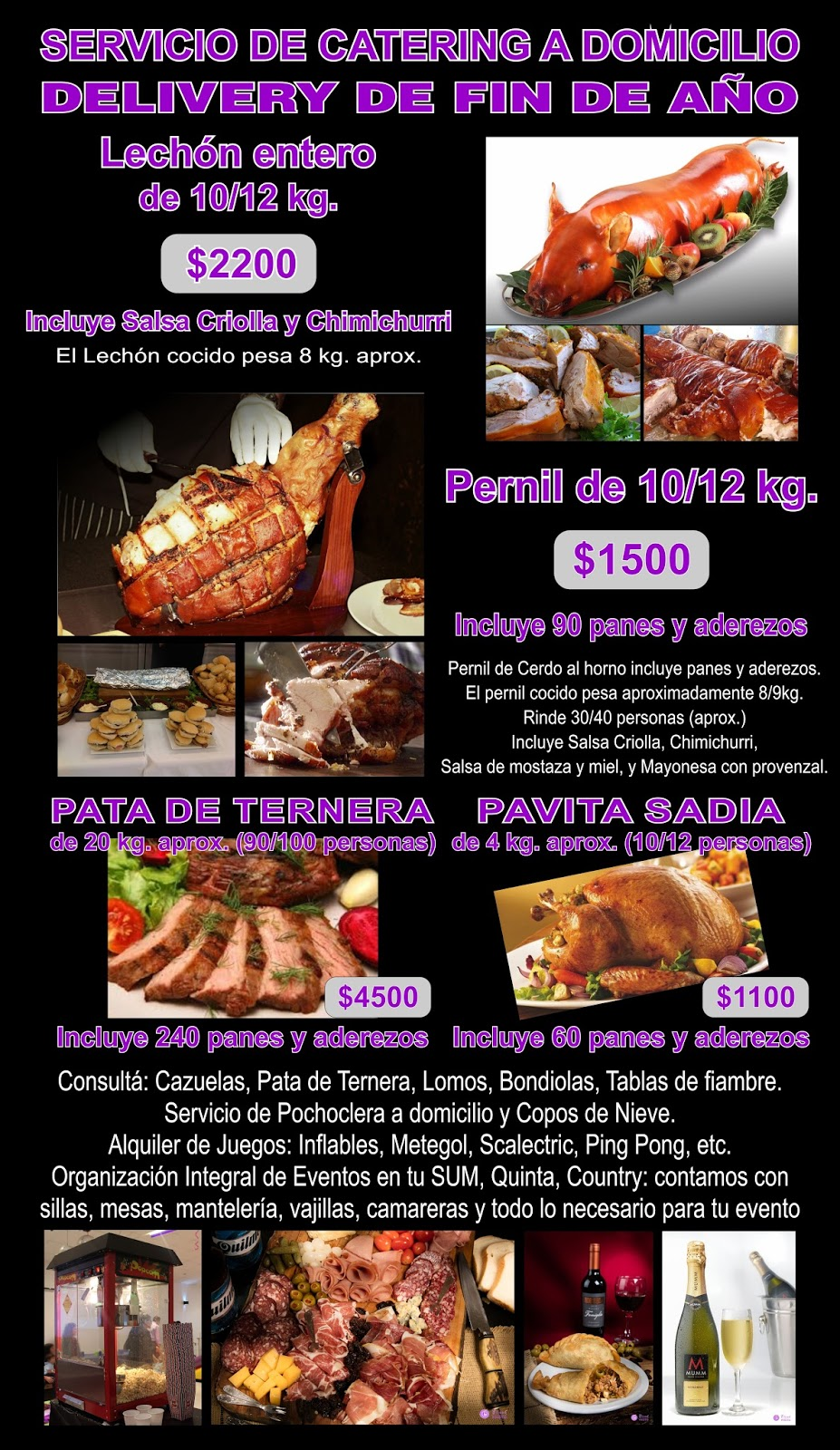 Delivery de Catering