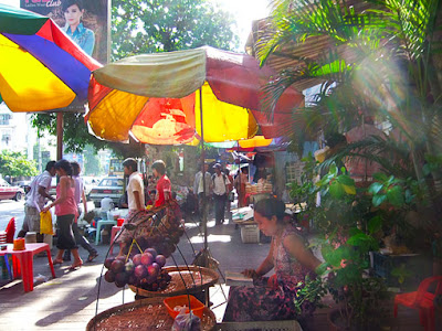 Yangon city center