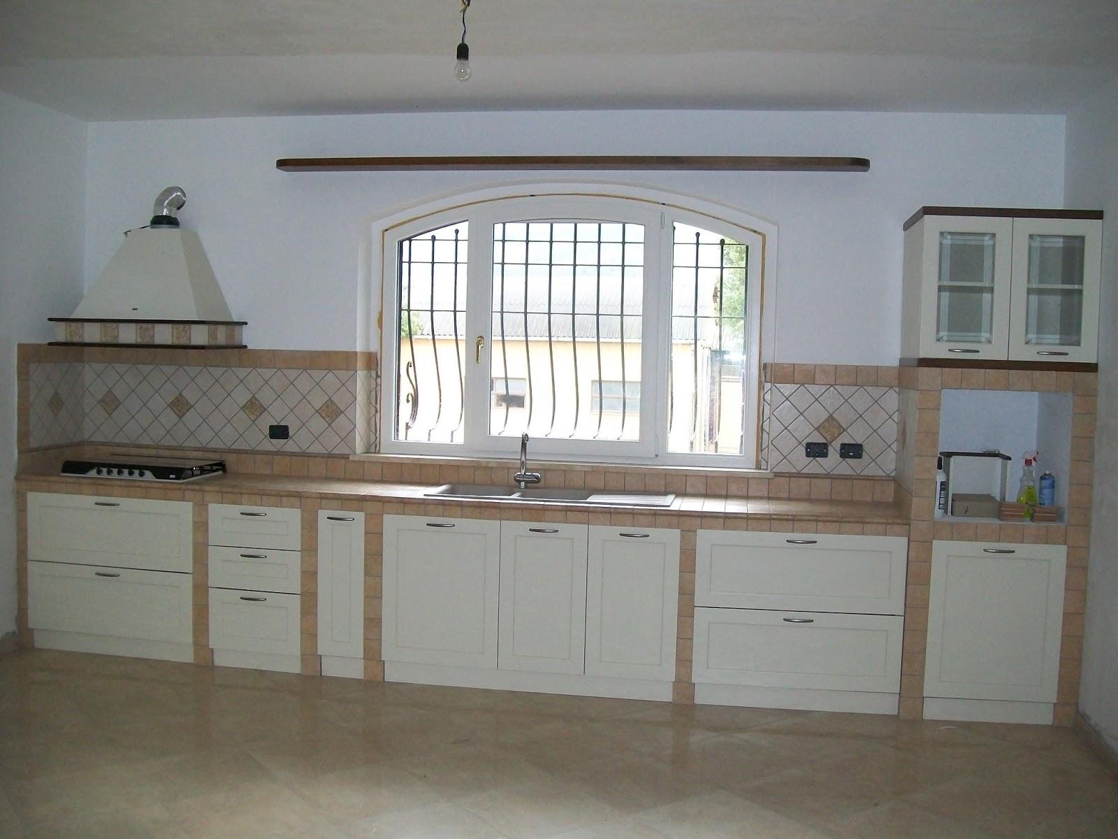 Realizzare Cucina In Muratura | Cucine In Finta Muratura Foto Design Mag