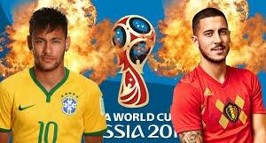 مشاهدة مباراة البرازيل و بلجيكا مباشر اليوم كورة لايف كأس العالم روسيا 2018