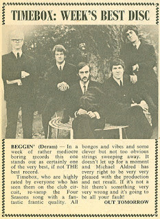 Record review. Disc and Music Echo, June 1, 1968.