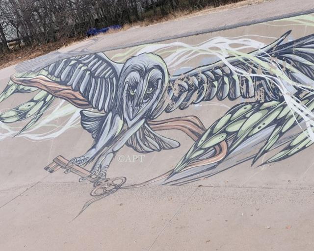 Berridale Street Art | Mural by Mike Shankster