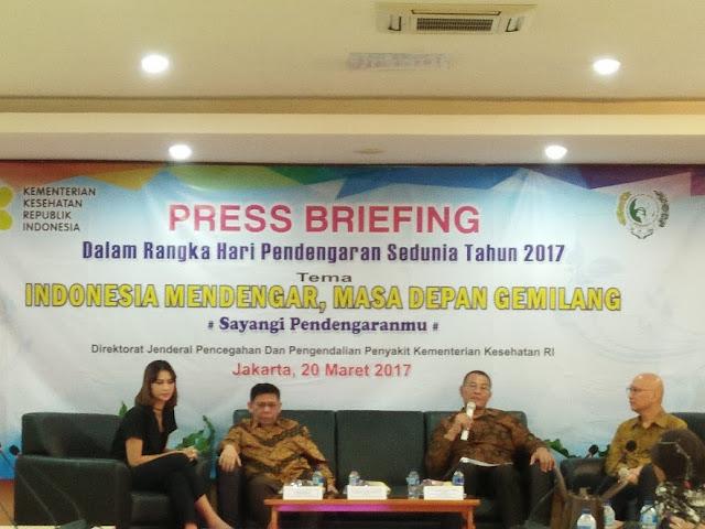 Cegah Generasi Hahhh?! Indonesia Mendengar, Indonesia Gemilang: Hari Pendengaran Sedunia 2017