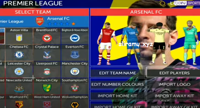 FTS 22 Mod eFootball 2022 (300MB) Android Offline Final Transfer Pemain & Kits 21/22
