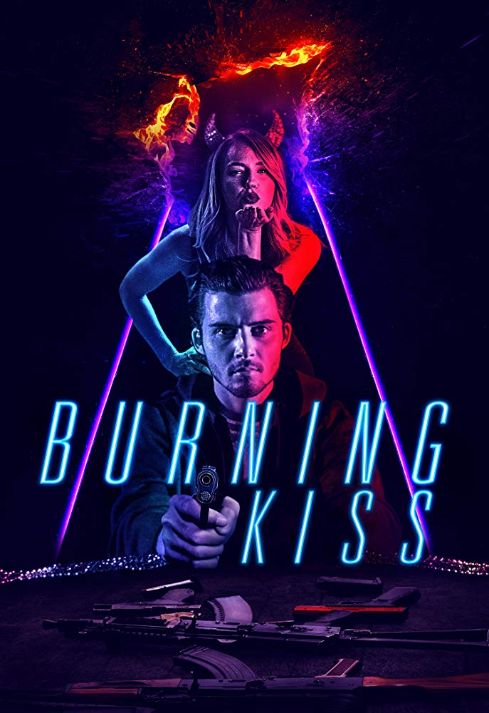 BURNING KISS poster