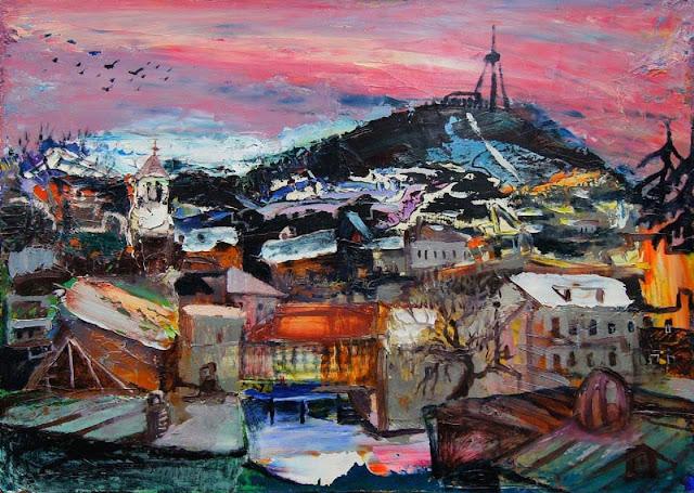 Elene Akhvlediani - Georgian Landscape Paintings
