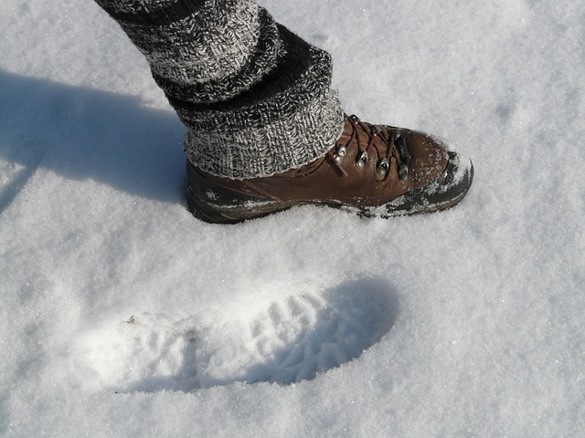 zapatos nieve