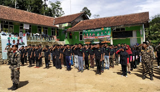 Sebanyak 118 Peserta Lulus Dalam Diklatsar Banser Gunung Halu