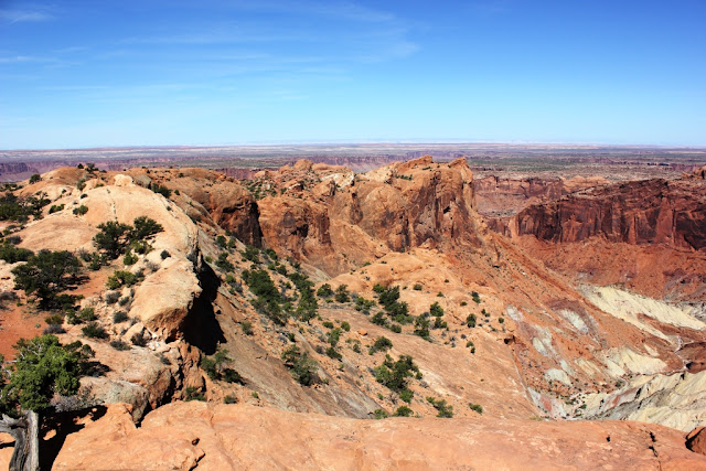 Upheaval Dome Canyonlands National Park Utah