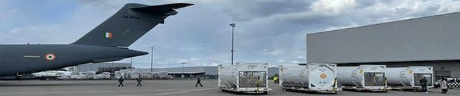 IAF Airlifts Cryogenic Oxygen Containers From Germany, UK Amid Covid-19 Crisis