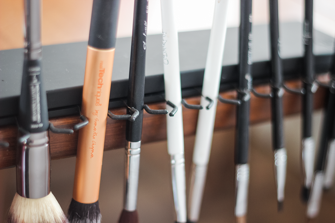 how to wash your makeup brushes, sanitize makeup brushes, clean