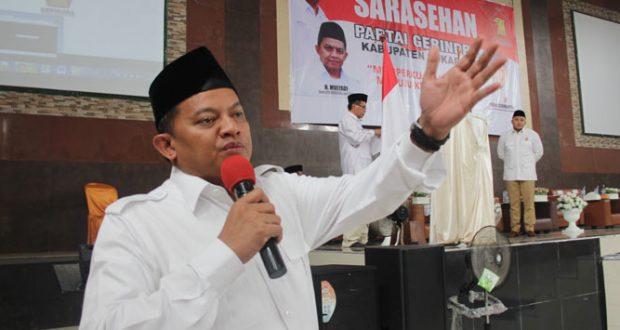 Ketua DPD Gerindra Jabar Menduga Dicopot Prabowo karena 'Asyik' Kalah