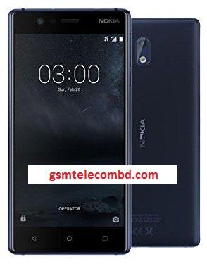 Nokia 3 Flash File (TA-1020 TA-1028 TA-1032 TA-1038) All Version