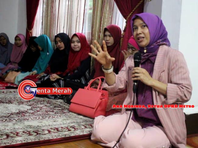 Perkuat Persatuan Pasca Pemilu, Ketua DPRD Metro Gelar Pengajian