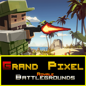 Download Grand Pixel Royale Battlegrounds Mobile Battle 3D game for Android APK