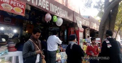 lokasi membeli souvenir di tajmahal india