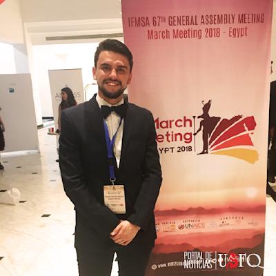 USFQ presente en la Asamblea General #67 de la Federación Internacional de Asociaciones de Estudiantes de Medicina -IFMSA