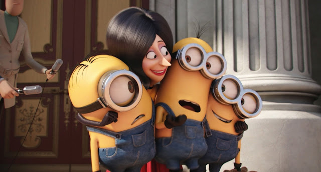 Despicable Me Cute Minions Desktop Wallpaper