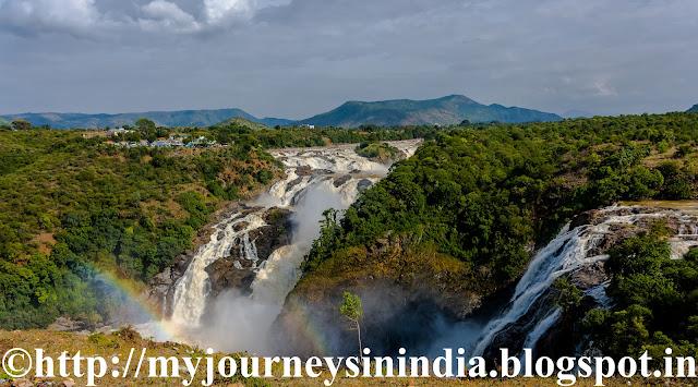 Gaganachukki Waterfalls Shivanasamudra