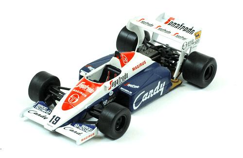 Toleman TG184 1984 Ayrton Senna f1 the car collection