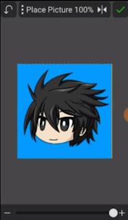 Cara Membuat Logo / Maskot seperti Milyhya di Android pixellab