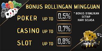 Bonus Rebate Mingguan
