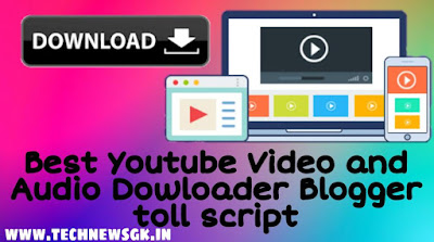 How to create Youtube video downloader script for blogger for free 2021 best method