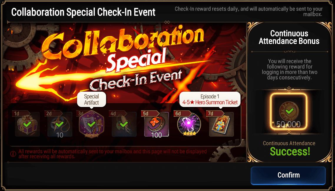 Epic Seven x Guilty Gear Collab rewards