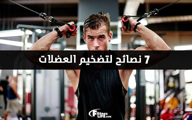 تقوية عضلات الجسم وتضخيمها