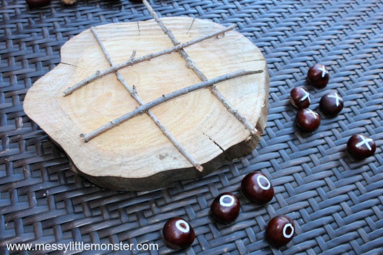 naughts and crosses diy games for kids