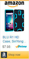 Funda a prueba de golpes y suciedad para BLU R1 HD marca SinYong Hybrid.