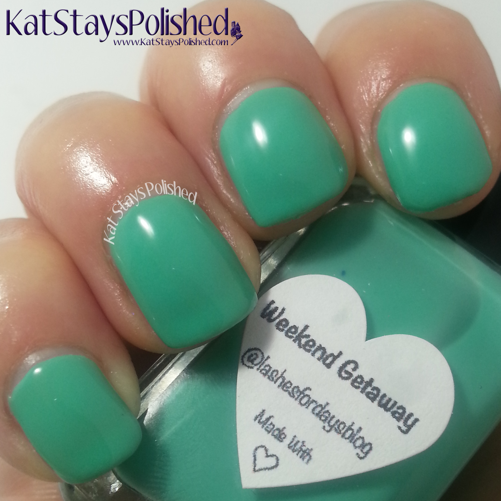 Polished for For Days - Gloss48 - Weekend Getaway | Kat Stays Polished