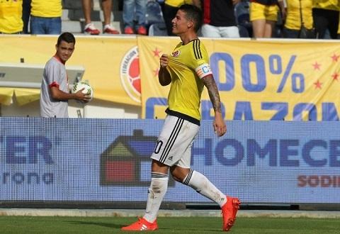 James quay lại World Cup 2018 liệu có làm nên điều kỳ diệu cùng Colombia?
