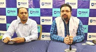 max hospital introduced robotic thoracic surgery opd services