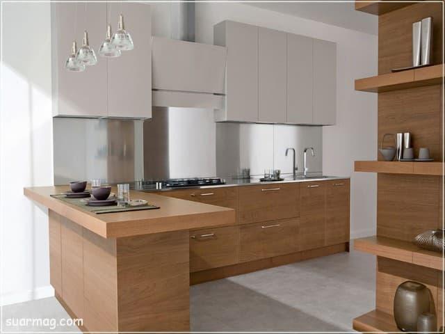مطابخ خشب 2020 13   Wood Kitchens 2020 13