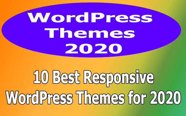 Top 10 Responsive WordPressThemes 2020