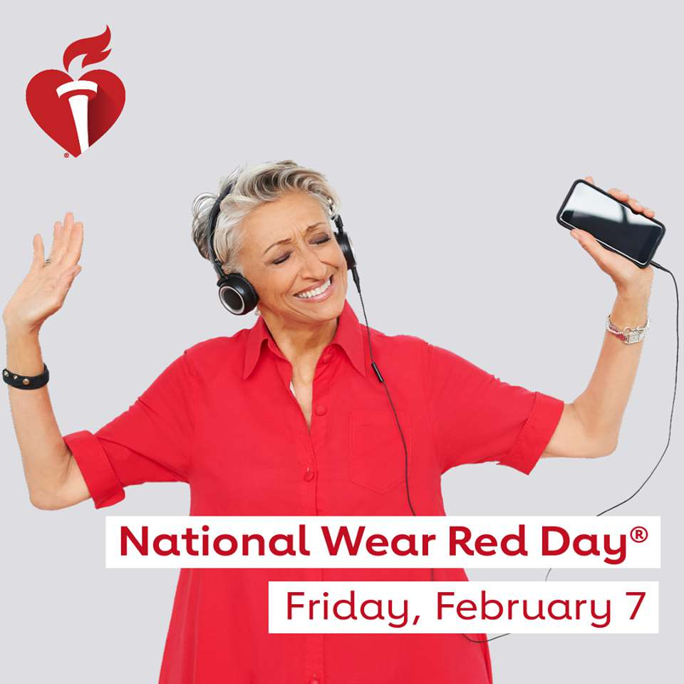 National Wear Red Day Wishes Lovely Pics