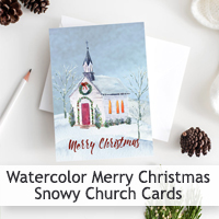 Christmas Church Card