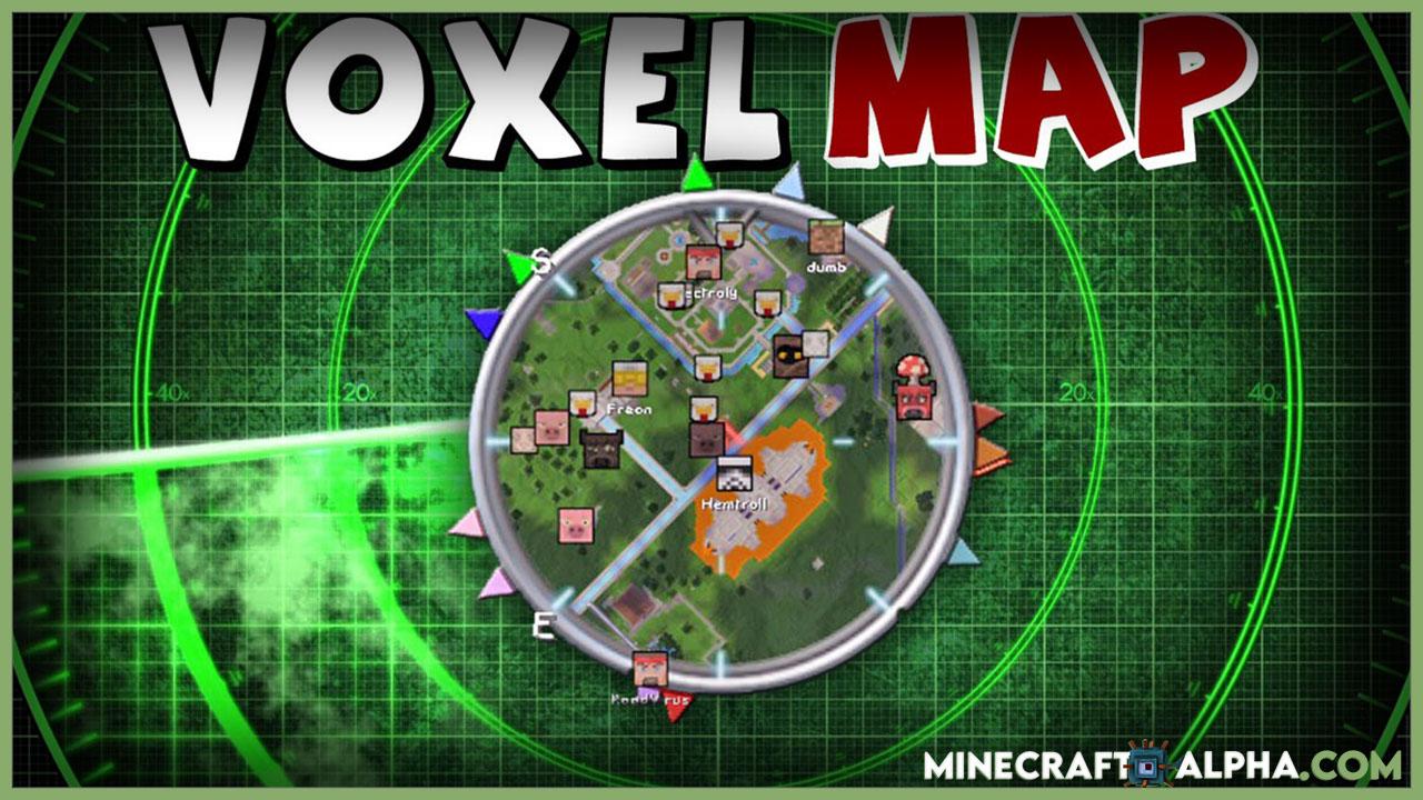 New VoxelMap Mod