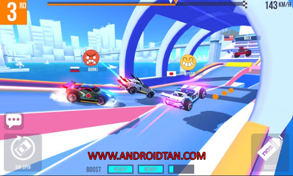Free Download SUP Multiplayer Racing Mod Apk v1.1.2 (Unlimited Money/Coins) Android Terbaru Latest Version 2017