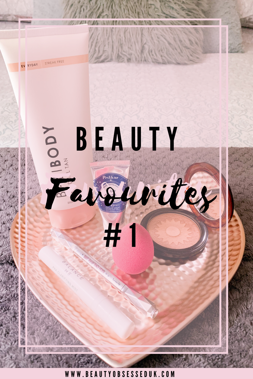 Beauty Favourites Pinterest