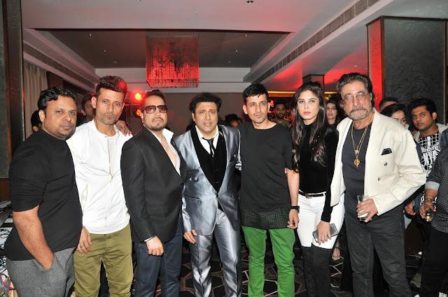 8. Kumaar, with Meet Brothers, Mika Singh, Govinda and Shakti Kapoor