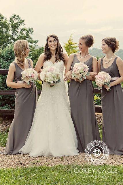 bride and bridesmaids | Corey Cagle Photography
